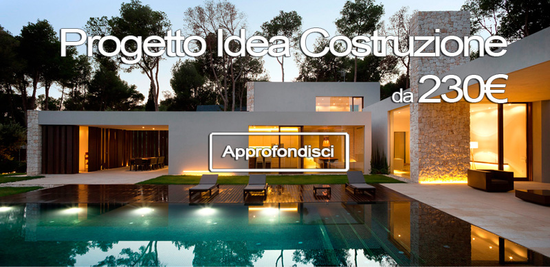 Vuoi Costruire Casa? Progetto Casa Moderna a partire da 230€