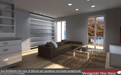 Esempi progetti on line per costruire ristrutturare arredare for Progetti appartamenti moderni