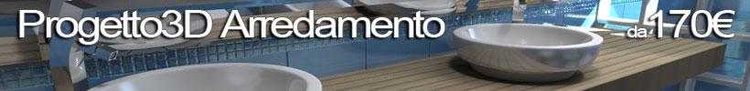 Appartamento con vista esempio progetto online for Arredamento 3d online