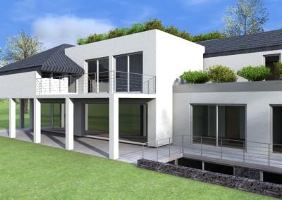 Progetto 3D Villa