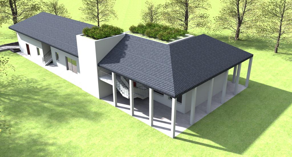 Esempi di progetti 3d di costruzione architettiamo for Progetti 3d