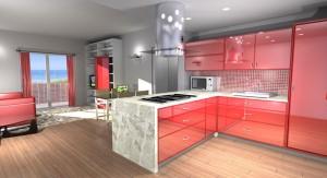 Progetto Ristrutturazione Edilizia Cucina Penisola