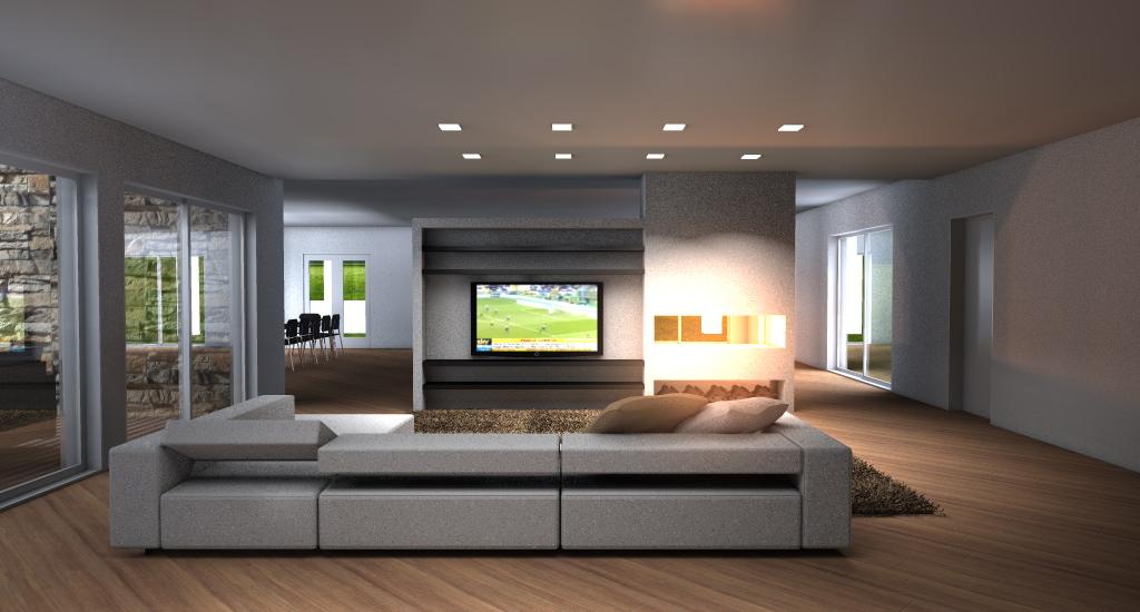 soggiorno moderno con camino ad angolo soggiorno moderno con divano ...