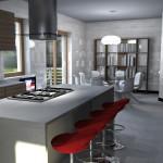 Cucina ad Isola e Pranzo