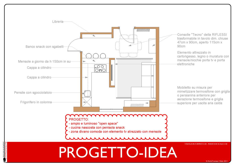 Interior Design - pianta di progetto