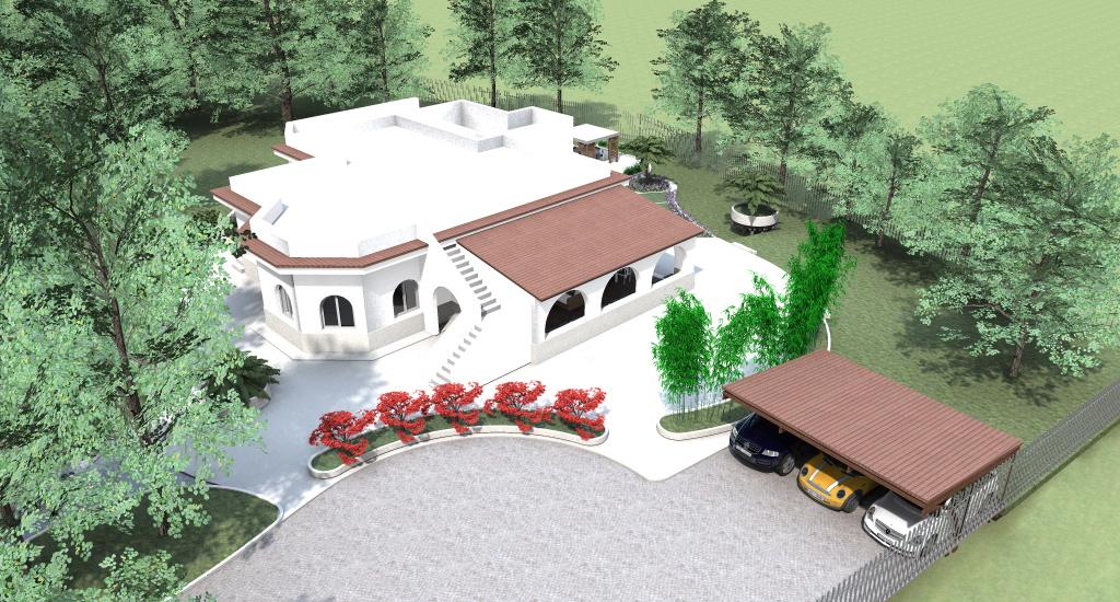 Progettazione giardini e progetto del verde progetto 3d e rendering - Progettazione esterni casa ...