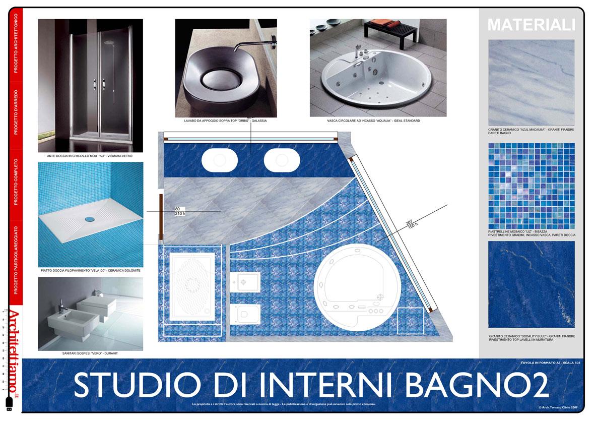 Progetto Interni e Studio Compositivo Bagno