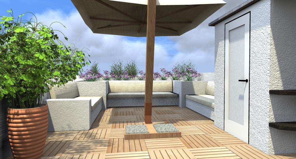 Stunning Progettare Un Terrazzo Photos - Idee Arredamento Casa ...