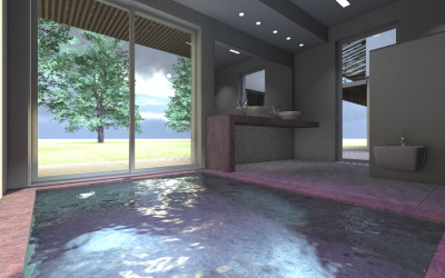 Arredare il bagno come un'oasi di relax