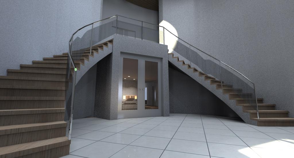 Villa con piscina sull 39 adriatico esempio di progetto online for Ingresso ville moderne