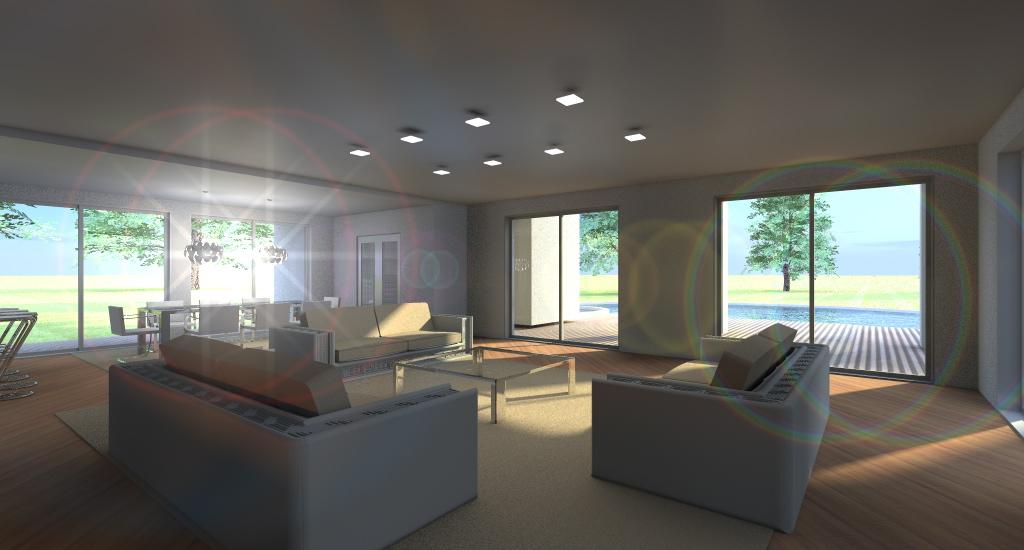 ZONA CONVERSAZIONE: grandi e comodi divani della Missoni Home si affacciano