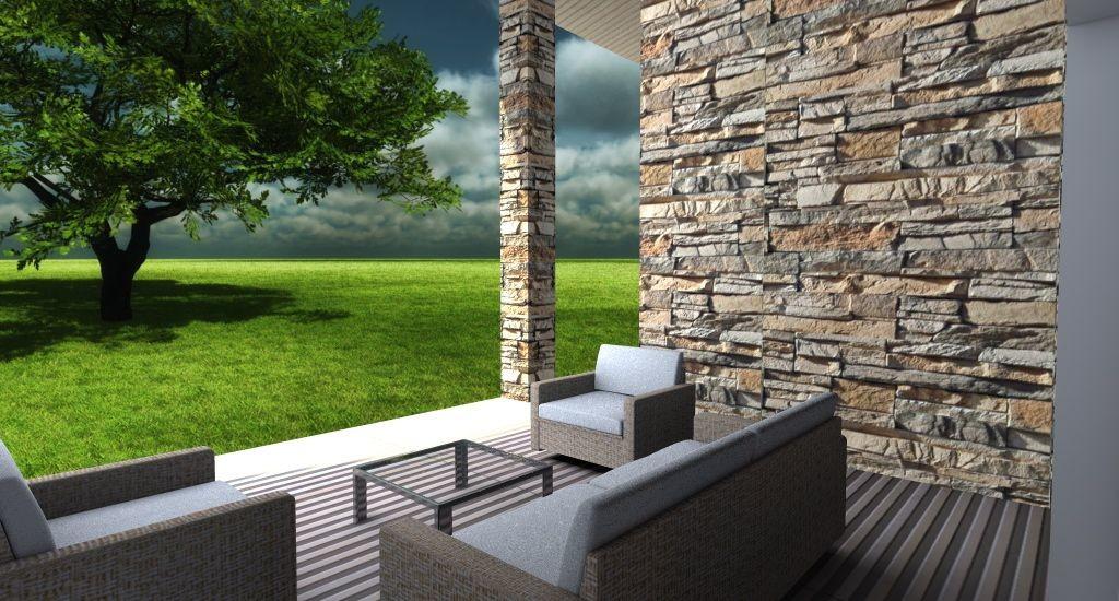 Esempio di Progetto di Villa con piscina sulladriatico
