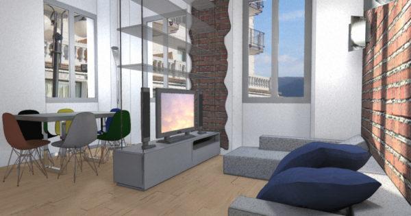 Appartamento con vista esempio progetto online for Esempi di ristrutturazione appartamento