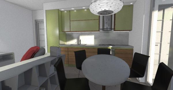 Appartamento moderno e accogliente esempio di progetto online for Esempi di ristrutturazione appartamento