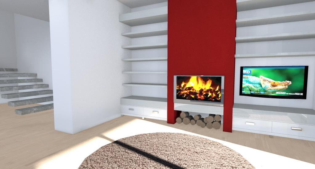 Villa nel verde esempio di progetto online for Arredamento 3d online