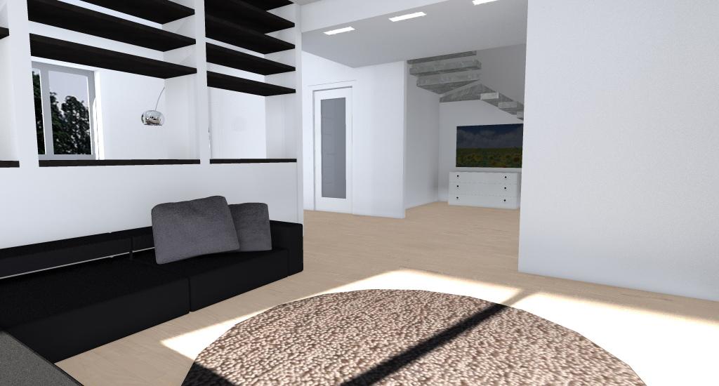Villa nel verde esempio di progetto online for Armadio da soggiorno