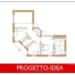 Progetto Idea Casa 2 - Villa in Piemonte 1 - PROGETTO-IDEA-1P