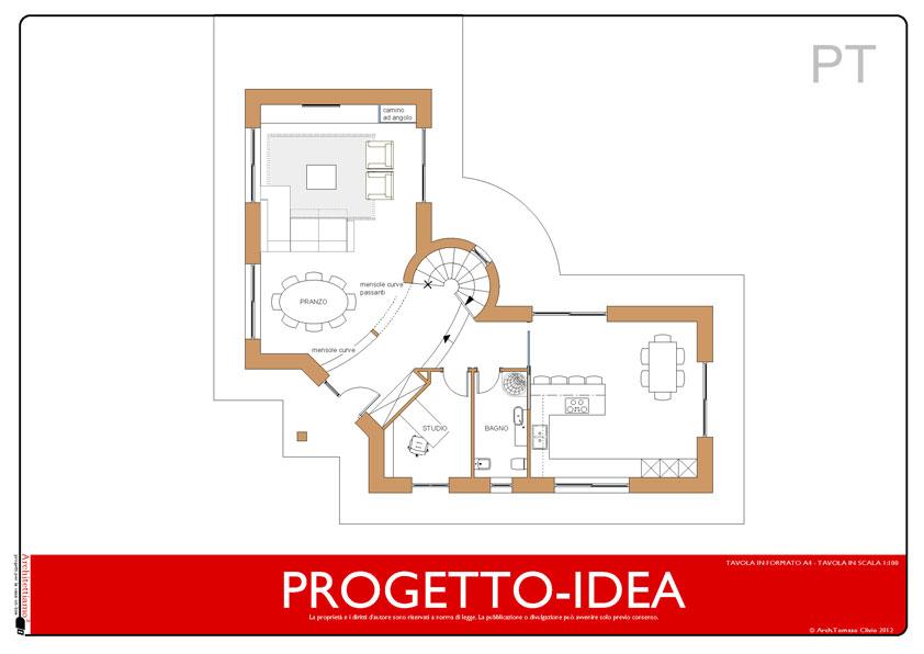 Progetto idea casa un idea di progetto speciale per la for Piani di casa suocera
