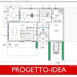 Progetto Idea Casa 1 - villa in sicilia - PT