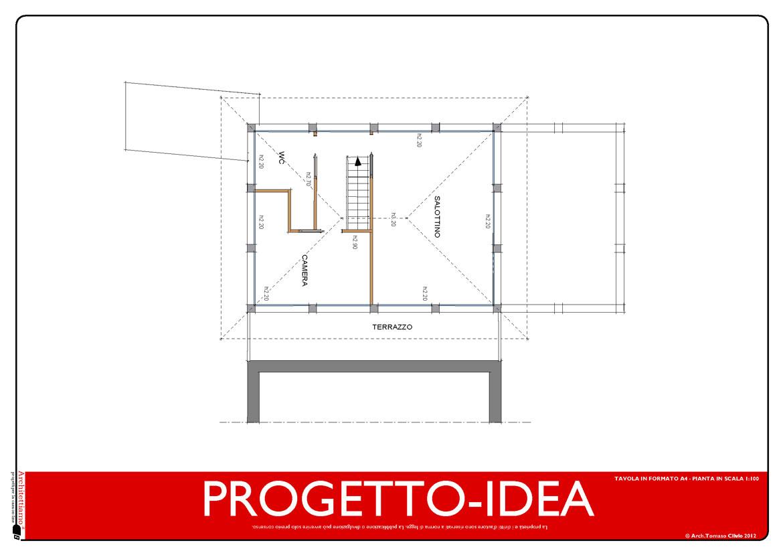 PROGETTO-IDEA MANSARDA demolizione costruzione casa