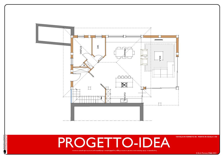 PROGETTO-IDEA PIANO TERRA