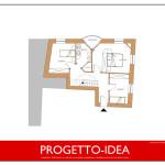 Progetto Idea Casa 3 - Rustico in Trentino - 1P
