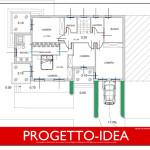 Progetto Idea Casa 1 - villa in sicilia - 1P
