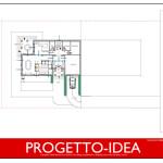 Progetto Idea Casa 1 - villa in sicilia - inquadramento urbanistico