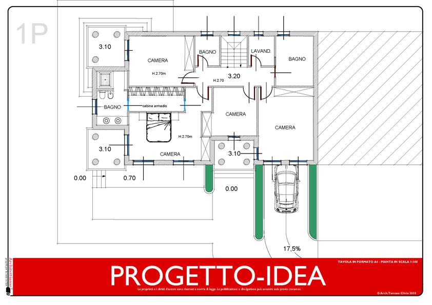Progetto idea casa un idea di progetto speciale per la for Casa su due piani progetto