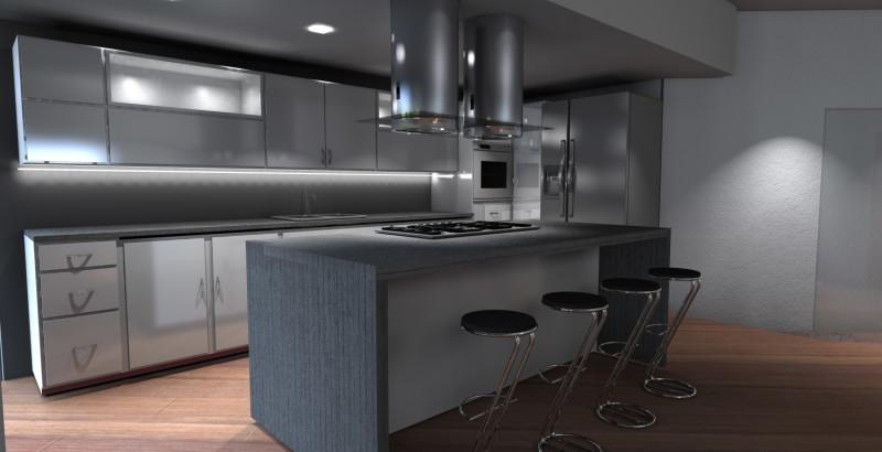 Design degli interni come riorganizzare l 39 arredamento della tua casa - Sgabelli per isola cucina ...
