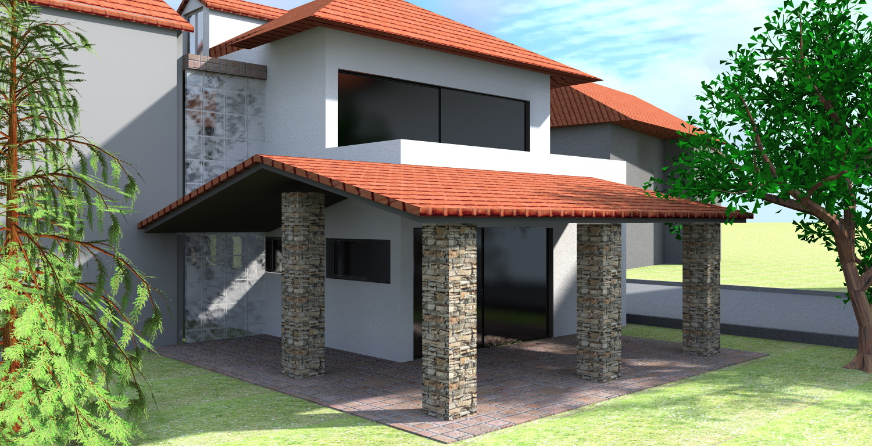 LATO GIARDINO - demolizione costruzione casa