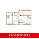 Idea Ristrutturazione - frazionamento appartamento - progetto idea