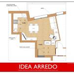 progetto idea arredo - living design - progetto idea