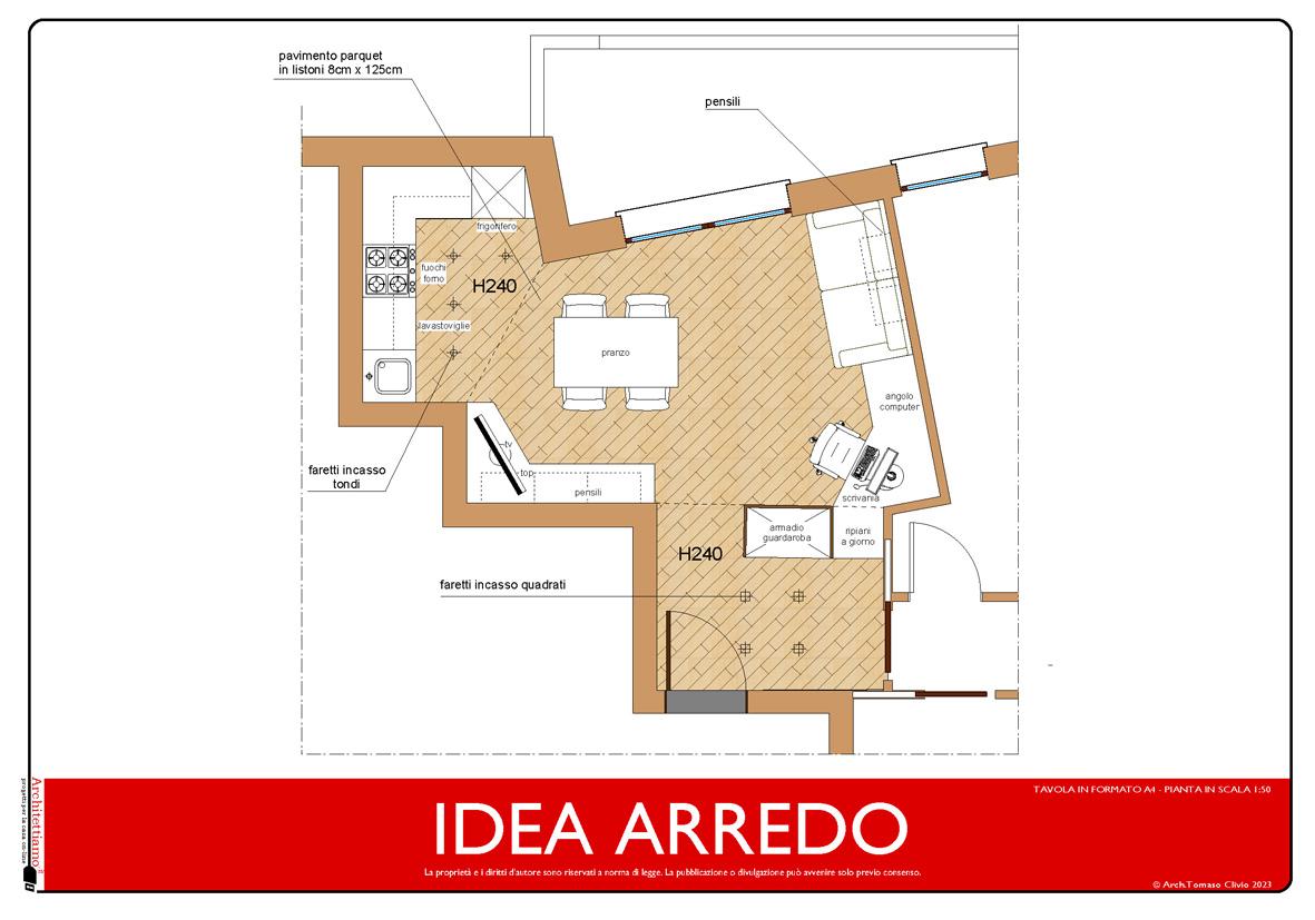 Progetto idea arredo una soluzione rapida ed economica di for Progetto arredo casa on line