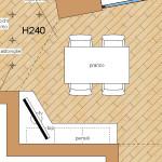 progetto idea arredo - living design - mobile buffet ad angolo