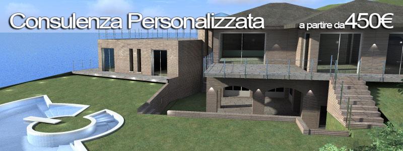 Progetto casa su misura dal progetto 3d a tutti i dettagli for Consulenza architetto online