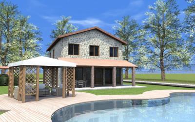 Esempi progetti on line per costruire ristrutturare arredare for 2 piani di casa in stile cottage