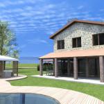 Progetto Casa 3D - 2 - Rustico in Lazio 2