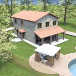 Progetto Casa 3D - 2 - Rustico in Lazio 1