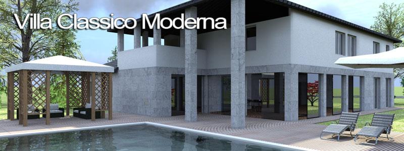 Progetto villa in puglia esempio di progetto online for Piani di casa moderna gratis