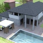 Vista Giardino e piscina