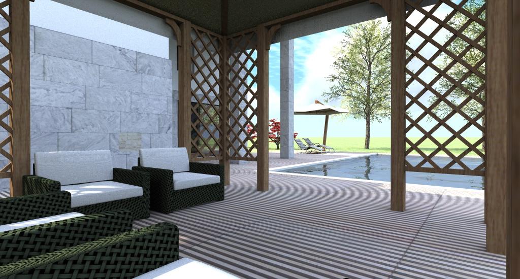 GAZEBO E AREA RELAX - Villa in Puglia