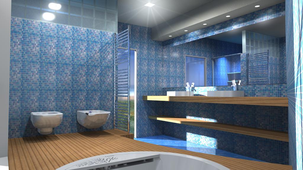Progetto arredo 3d modellazione 3d e rendering interni for Esempi di arredamento