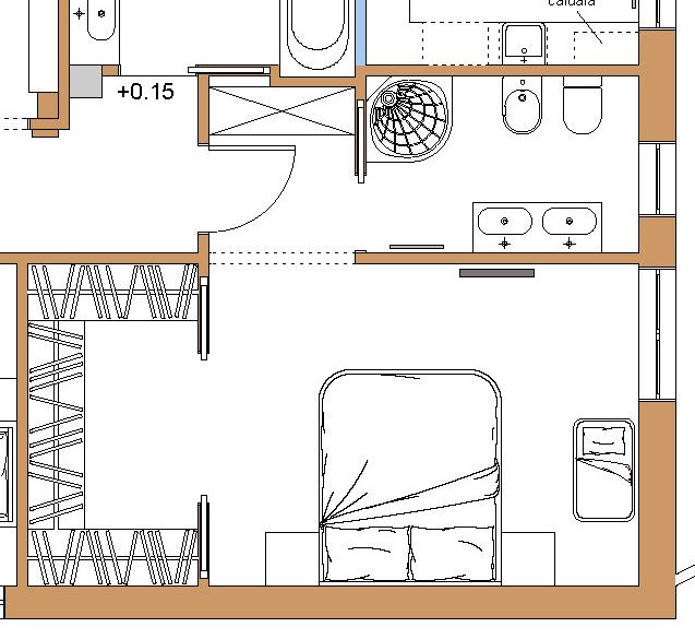 Esempi progetti online per costruire ristrutturare arredare - Cabina armadio in camera ...