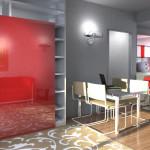 Idea Ristrutturazione 3D - Appartamento 60mq - rendering parete attrezzata tv