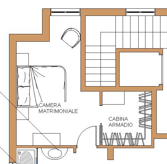 Esempi di disegni e progetti per arredare casa - Progetto cabina armadio ...