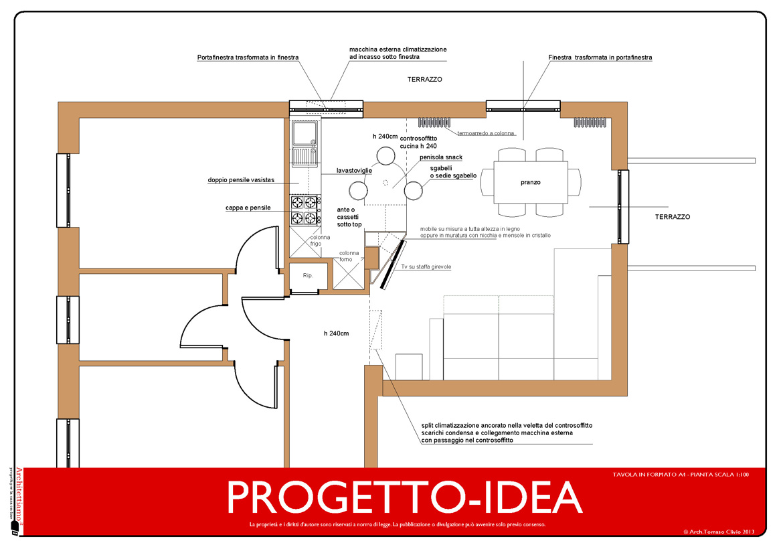 Idea ristrutturazione 3d anteprima fotorealistica progetto3d for Progetto casa ristrutturazione