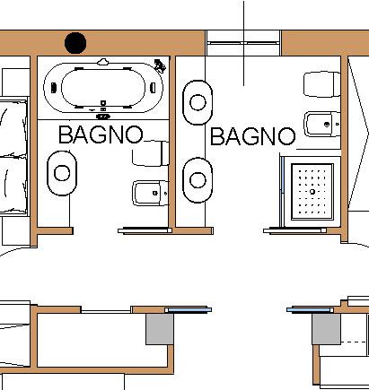 Idea ristrutturazione rapido progetto per ristrutturare casa - Bagno di 4 mq ...