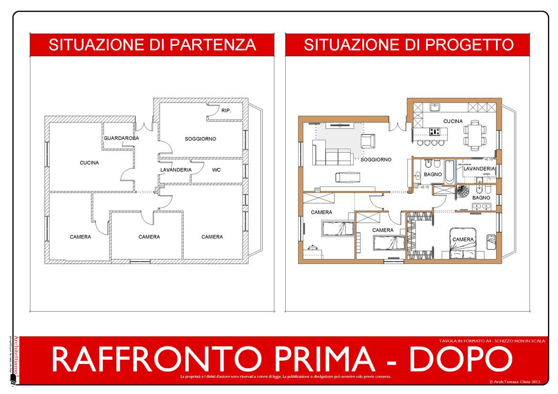 Esempi di disegni e progetti di ristrutturazione for Progetto di ristrutturazione