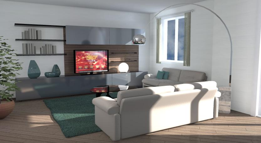 Idea Ristrutturazione 3d Anteprima Fotorealistica Progetto3d